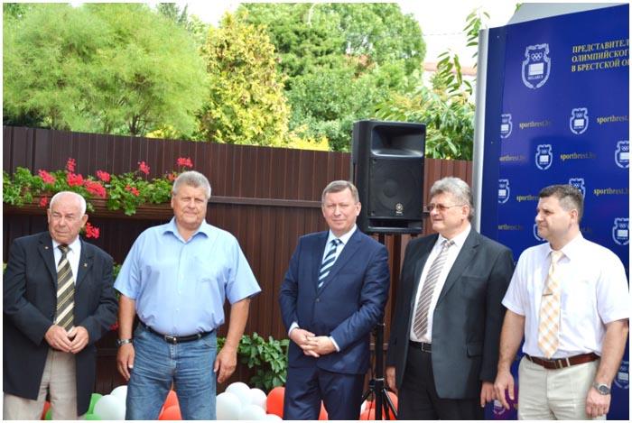 Открытие штаб-квартиры НОК в Брестской области