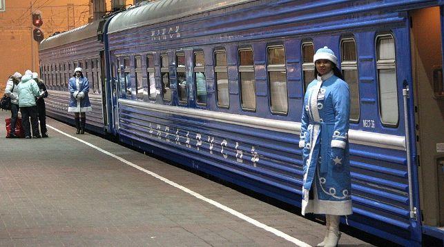 Новогодний поезд в Беловежскую пущу
