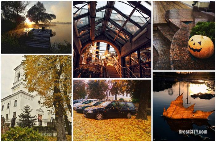 Красивые фотографии осеннего Бреста в инстаграм