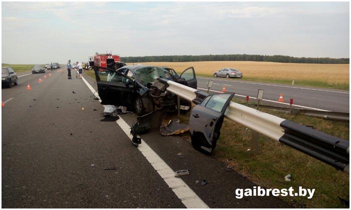 Авария в Барановичском районе 1 июля 2016. Погибла женщина