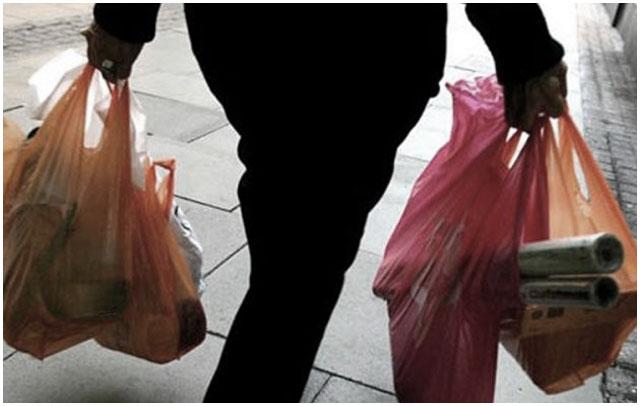 Украл продукты питания. Пакеты с продуктами
