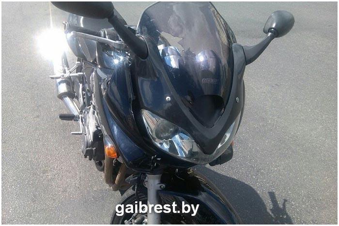 В Писнке мотоциклист сбил ребенка на переходе