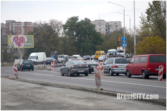 Закрывается движение по Березовскому мосту в Бресте