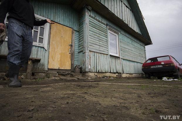 В деревне возле Баранович питбуль напал на беременную женщину