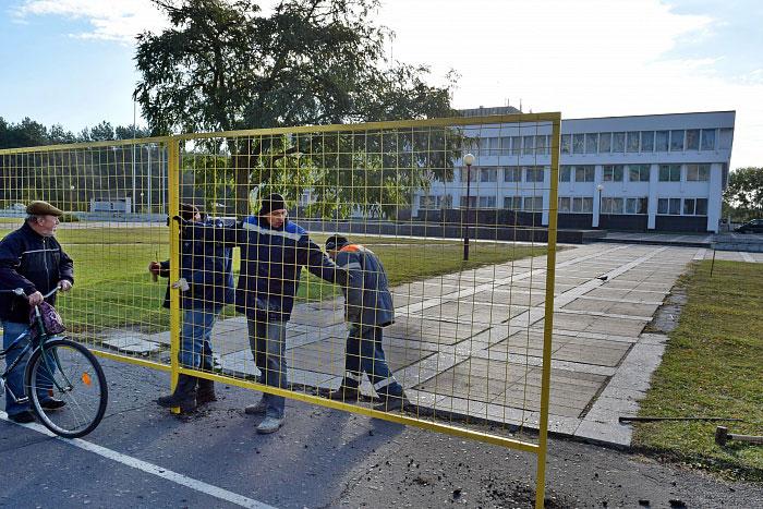 Площадку у брестского ДК Профсоюзов обновят