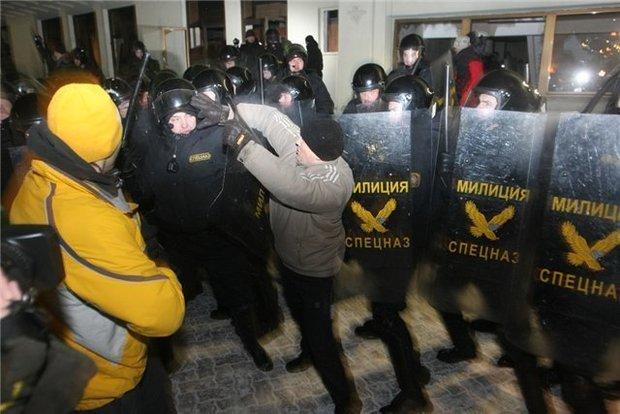 Беспорядки. Выборы 2010