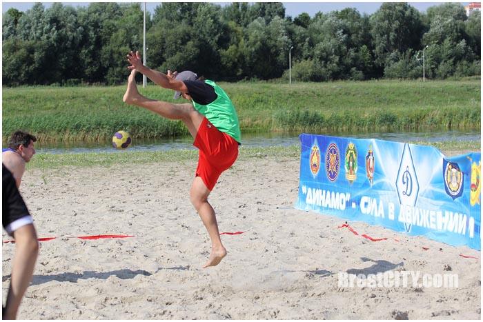 Пляжный гандбол в Бресте
