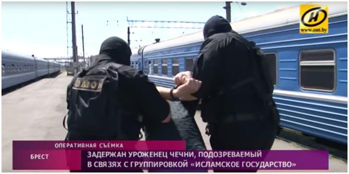 Задержали уроженца Чечни в Бресте