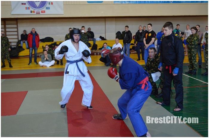 Чемпионат пограничников по рукопашному бою в Бресте