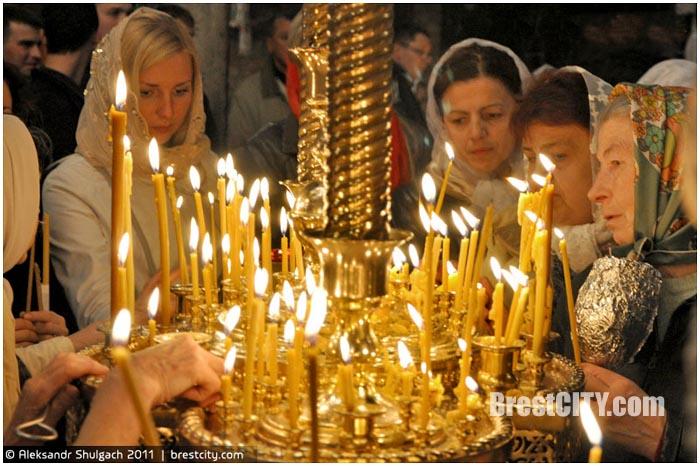 Расписание богослужений на Пасху в Бресте