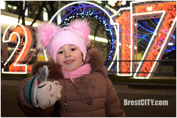 Брест продолжают украшать к Новому году 2017. Фото BrestCITY.com