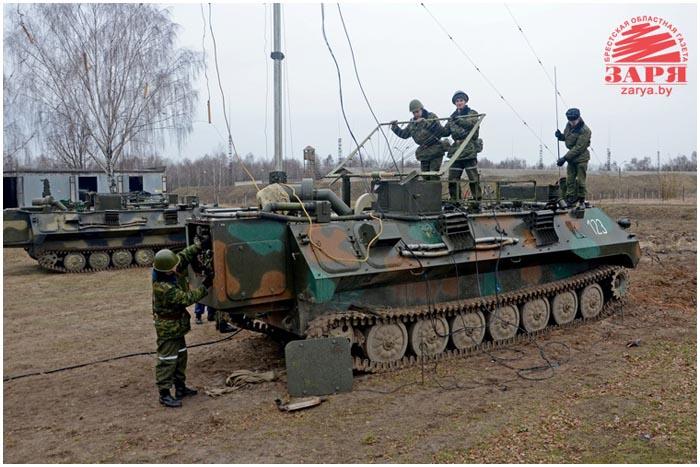 Батальон радиоэлектронной борьбы в Бресте