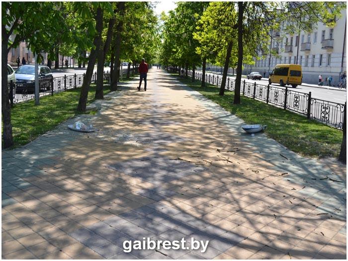 Авария на перекрестке бульвар Космонавтов - Гоголя 8 мая