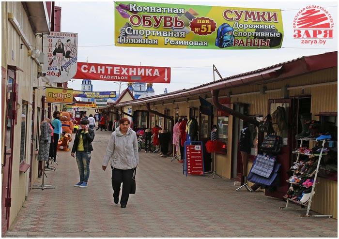 Рынок Лагуна в Бресте на Ковалевке