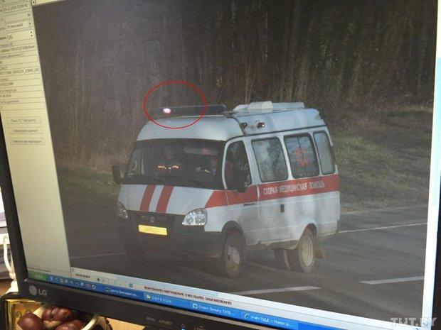 Водителя скорой оштрафовали за превышение