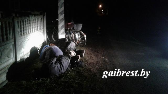 Спали на дороге