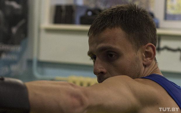 Пожарный-спортсмен из Бреста Виталий Романовский