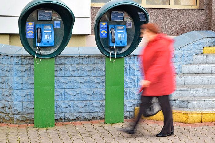 Уличные таксофоны в Бресте