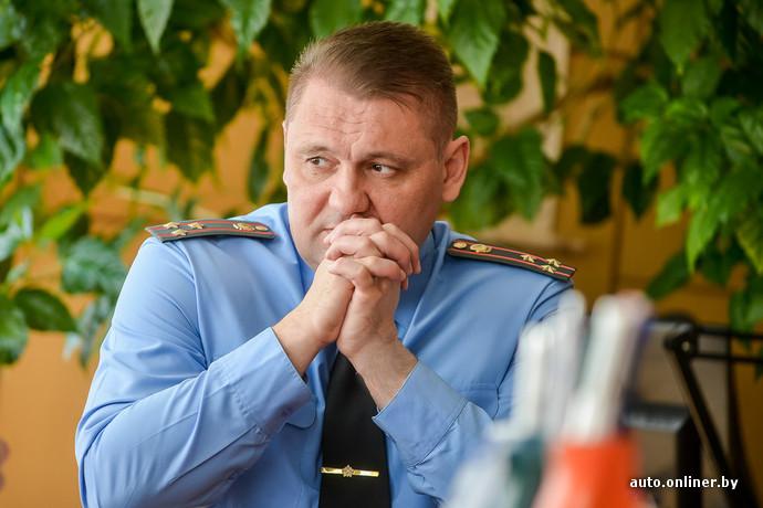 Сергей Талатай. Начальник Брестского областного ГАИ