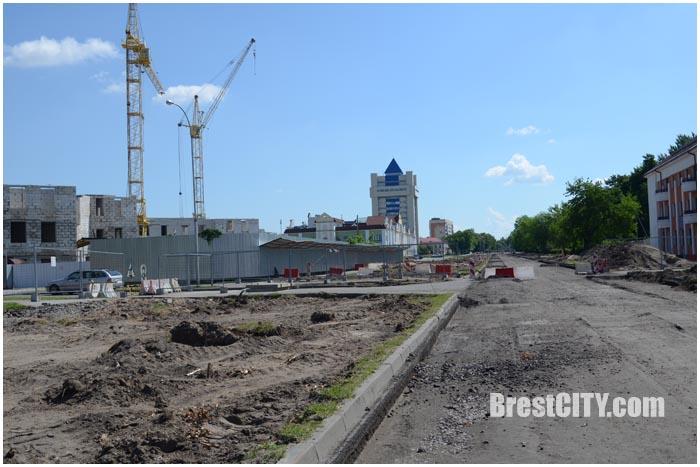 реконструкция проспекта Машерова