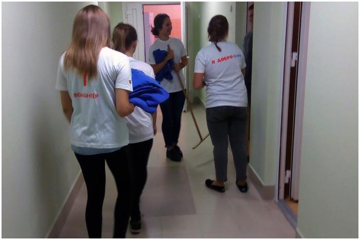 Волонтерская акция в Бресте БРСМ