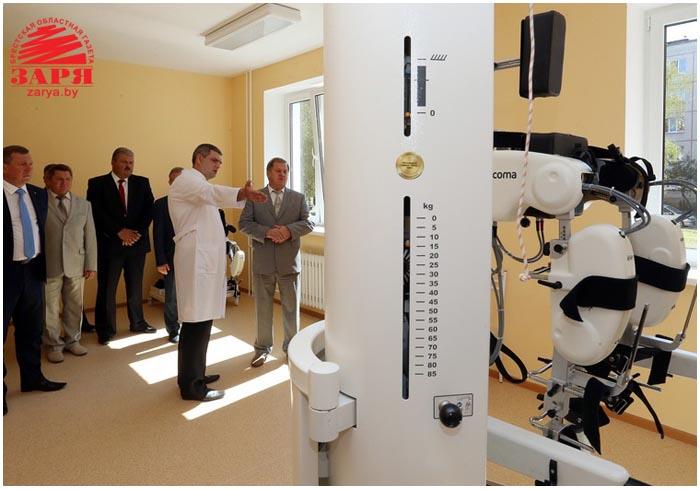 В Бресте открылся спальный корпус центра Тонус