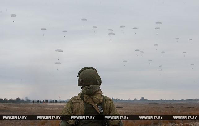 Учения десантников под Брестом