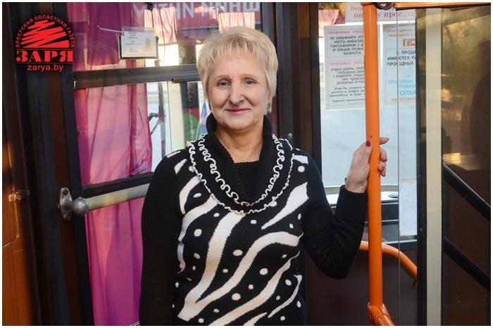 35 лет за рулем троллейбуса