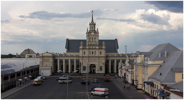 Брестскому ЖД вокзалу 130 лет