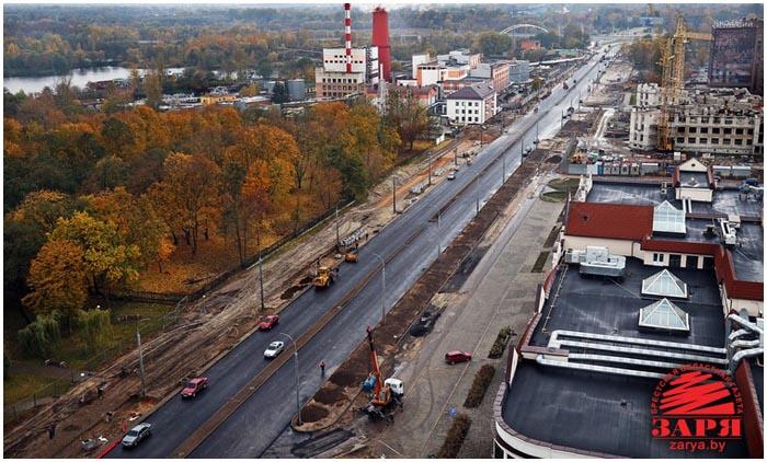 Новая дорога. Проспект Машерова. Брест. Западных обход