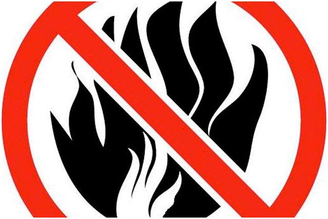 Запрет разжигания костров в Бресте