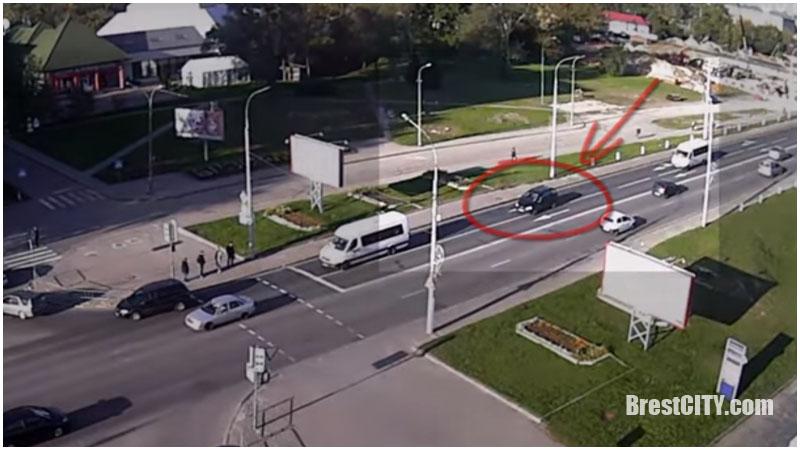 Две аварии в Бресте