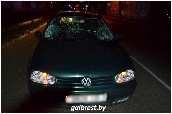Пьяный пешеход на Граевке попал под колеса авто