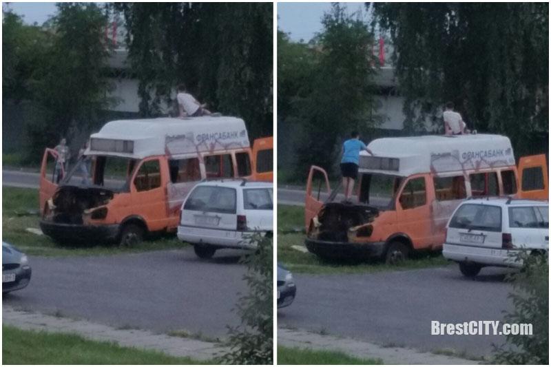Автохлам на ул.Карьерной в Бресте