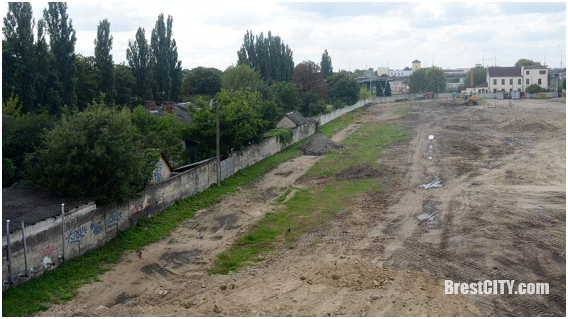 Площадку под строительство нового автовокзала практически полностью расчищена