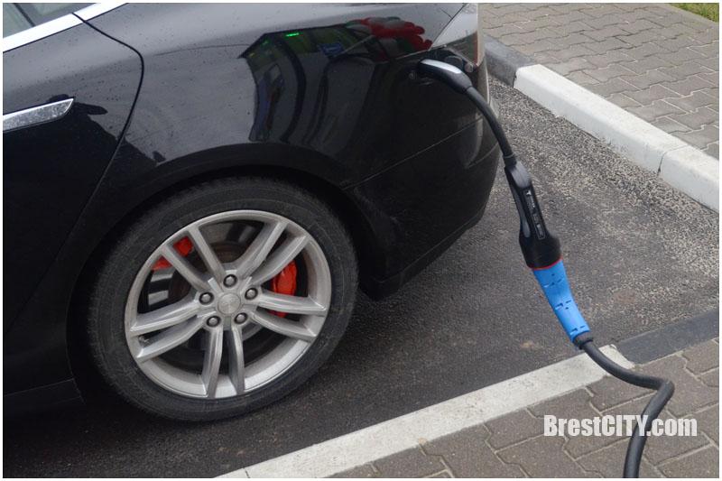 Электроавтомобиль в Бресте