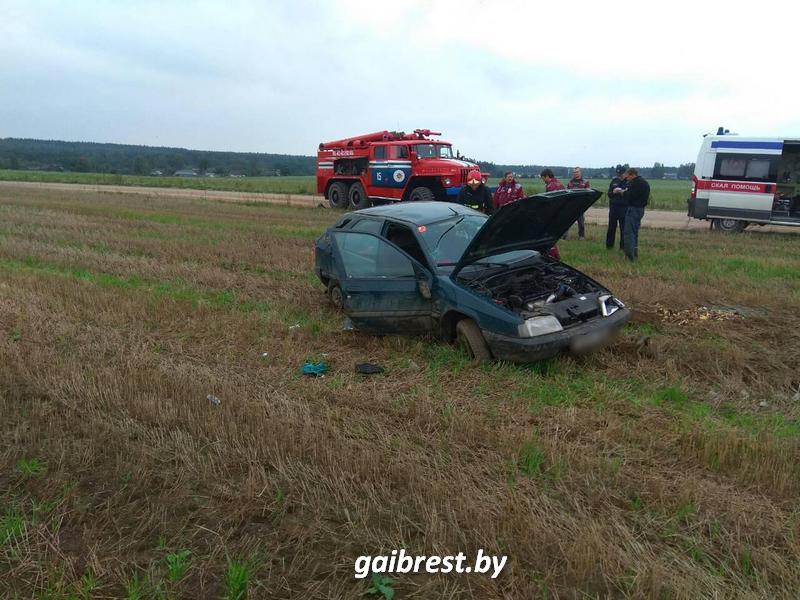 Авария в Барановчском районе