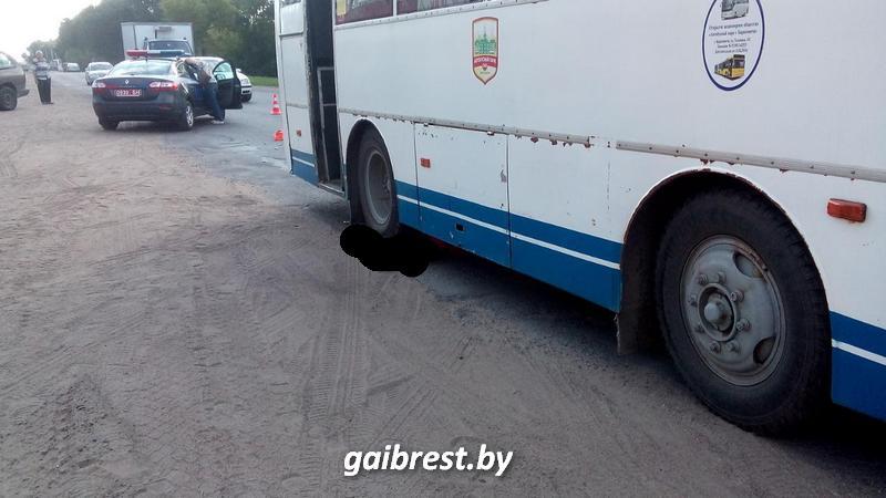 В Барановичах автобус сбил пешехода