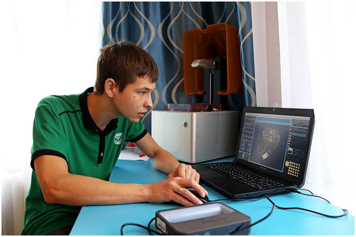 Предприниматель из Барановичей занимается 3D моделированием