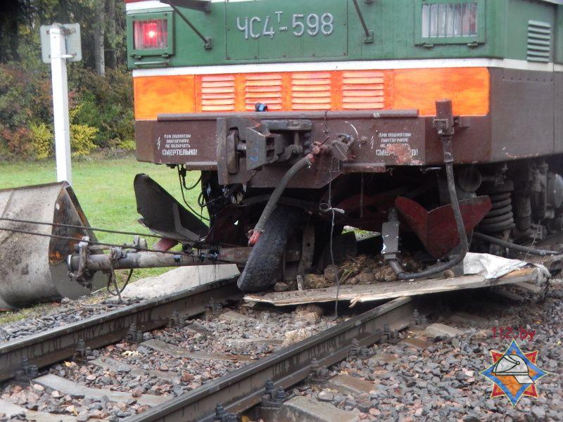 Авария поезда в Барановчиах