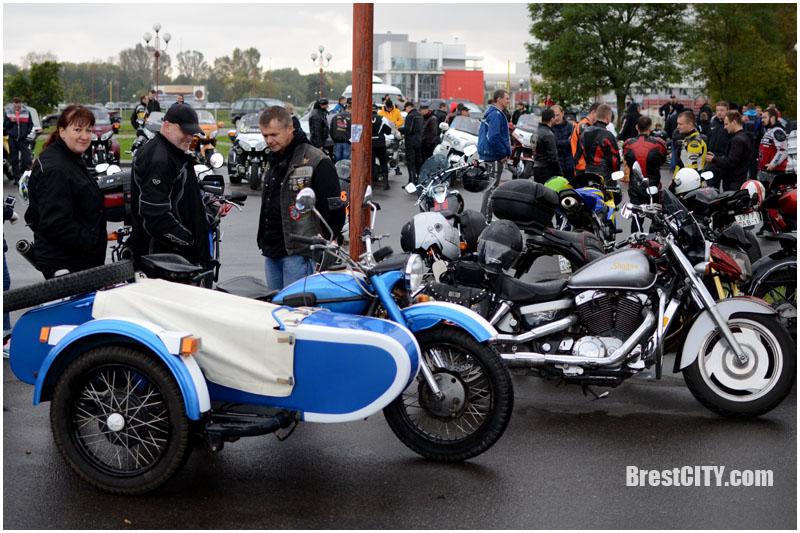 Закрытие мотосезона в Бресте. Фото BrestCITY.com
