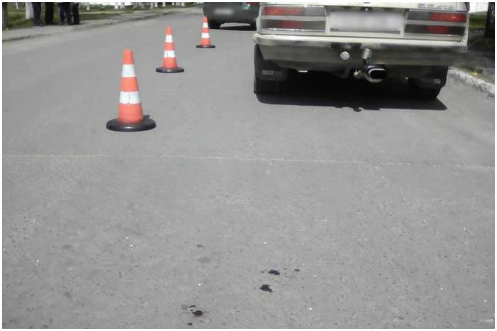 Водитель сбил пенсионерку в инвалидной коляске