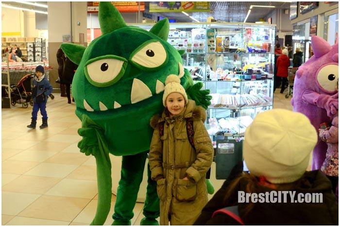 Бонстики в Бресте в Евроопте на варшавке. Фото BrestCITY.com