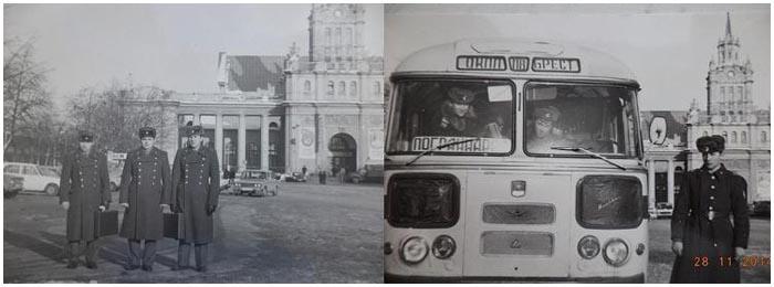 Пограничный Брест эпохи развитого социализма в фотографиях