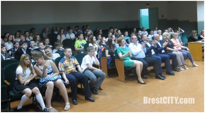 Встреча в 14 средней школе Бреста с поляками