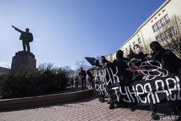 Марш тунеядцев в Бресте