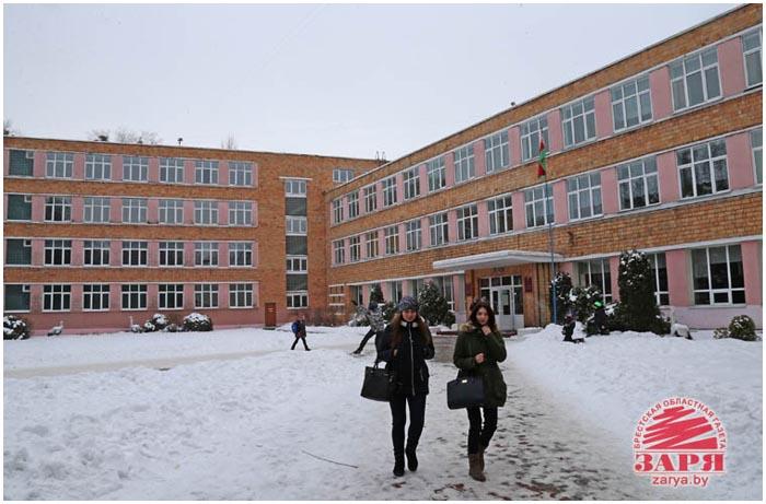 Юбилей школы №9 в Бресте - 70 лет