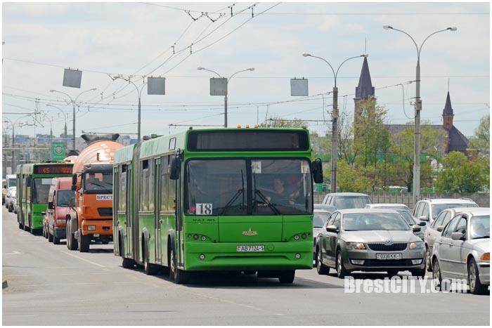 Расписание автобуса 18 в Бресте