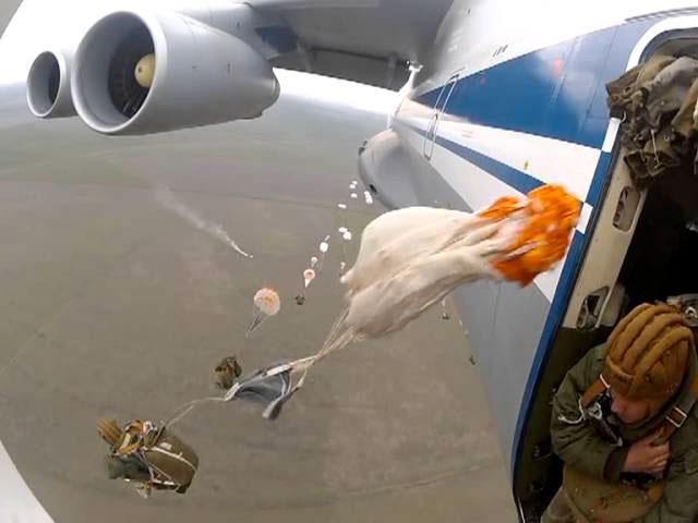 Десантники прыжки с парашютом