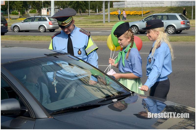 Акция Внимание Дети в Бресте